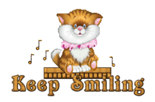 Keep Smiling - CuteKittenSitting