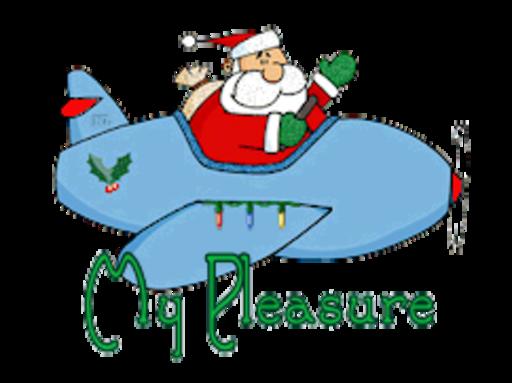 My Pleasure - SantaPlane