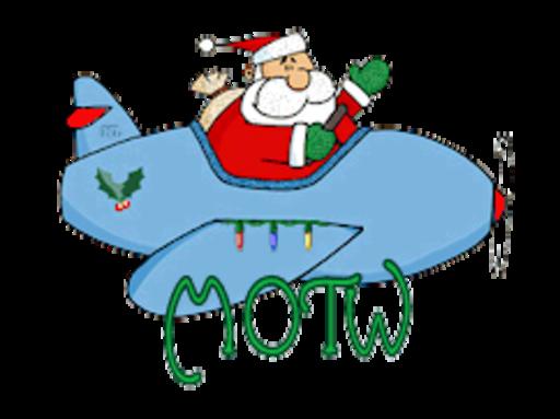 MOTW - SantaPlane