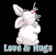 Love & Hugs - HippityHoppityBunny