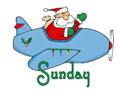 DOTW Sunday - SantaPlane
