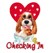 Checking In - ValentinePup2016