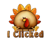 I Clicked - ThanksgivingCuteTurkey