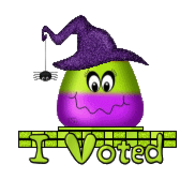 I Voted - CandyCornWitch