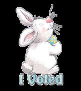 I Voted - HippityHoppityBunny