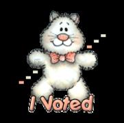 I Voted - HuggingKitten NL16
