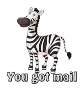 You got mail - DancingZebra