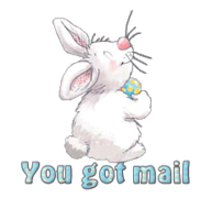 You got mail - HippityHoppityBunny