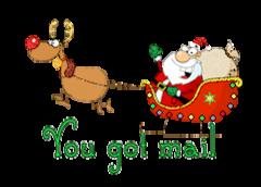 You got mail - SantaSleigh