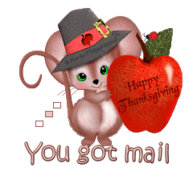 You got mail - ThanksgivingMouse