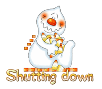 Shutting down - CandyCornGhost