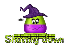 Shutting down - CandyCornWitch