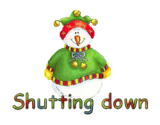 Shutting down - ChristmasJugler