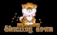 Shutting down - CuteKittenSitting