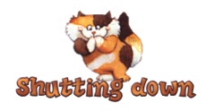 Shutting down - GigglingKitten