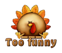 Too funny - ThanksgivingCuteTurkey