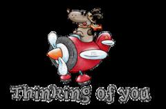 Thinking of you - DogFlyingPlane