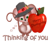 Thinking of you - ThanksgivingMouse