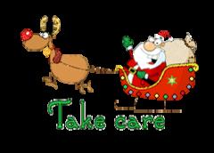 Take care - SantaSleigh