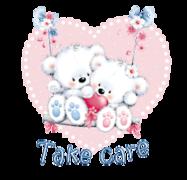 Take care - ValentineBearsCouple2016
