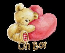 Oh Boy - ValentineBear2016