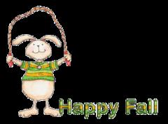 Happy Fall - BunnyJumpingRope