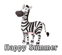 Happy Summer - DancingZebra