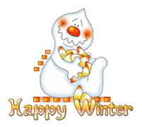 Happy Winter - CandyCornGhost