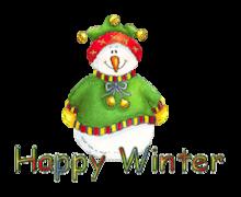 Happy Winter - ChristmasJugler