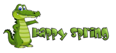 Happy Spring - CrocodileTeeth