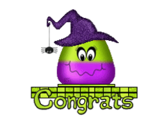 Congrats - CandyCornWitch