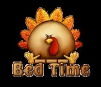 Bed Time - ThanksgivingCuteTurkey