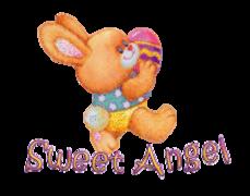 Sweet Angel - EasterBunnyWithEgg16