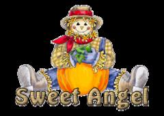 Sweet Angel - AutumnScarecrowSitting