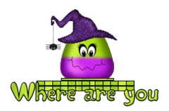 Where are you - CandyCornWitch