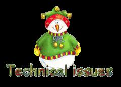 Technical issues - ChristmasJugler