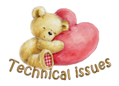 Technical issues - ValentineBear2016