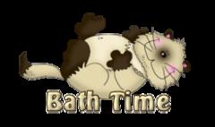 Bath Time - KittySitUps