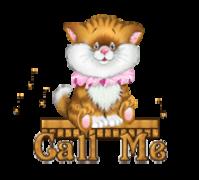 Call Me - CuteKittenSitting