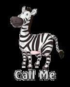 Call Me - DancingZebra