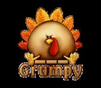Grumpy - ThanksgivingCuteTurkey