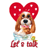 Let's Talk - ValentinePup2016