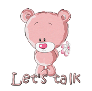 Let's talk - ShyTeddy
