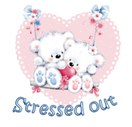 Stressed out - ValentineBearsCouple2016