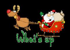 What's up - SantaSleigh