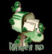 What's up - StPatrickMailbox16