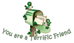 You are a Terrific Friend - StPatrickMailbox16
