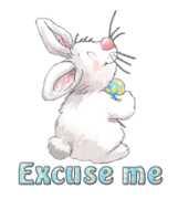 Excuse me - HippityHoppityBunny
