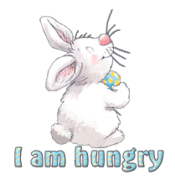I am hungry - HippityHoppityBunny