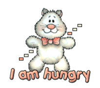 I am hungry - HuggingKitten NL16